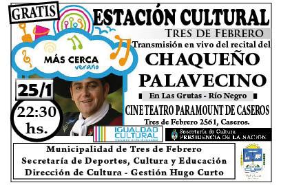 RECITAL DEL CHAQUEÑO, 25-1