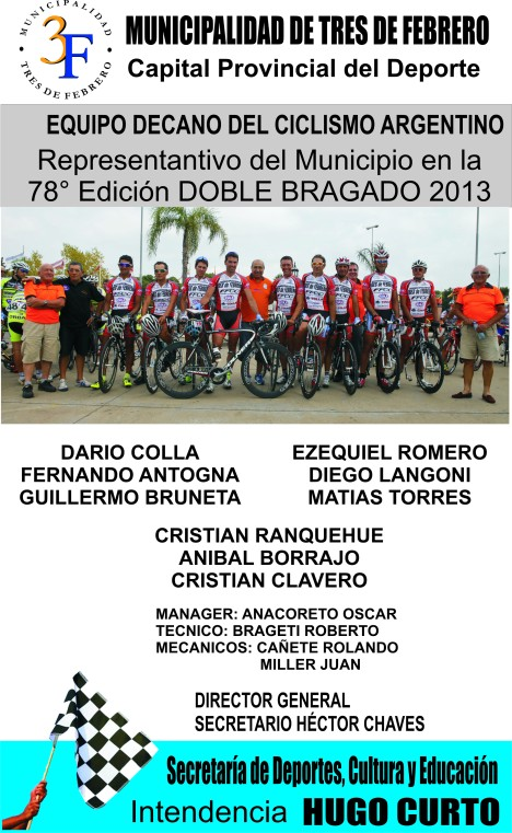 EQUIPO LOCAL... DOBLE BRAGADO
