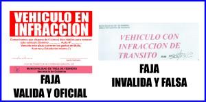 FAJAS TRANSITO UNA Y OTRA
