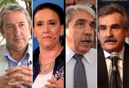 Cobos, Michetti, Aníbal F. y Rossi, algunos de los que opinaron sobre la nueva SIDE. | DyN