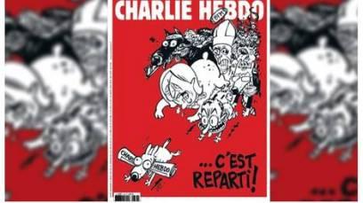 El dibujo está firmado por el caricaturista Luz.