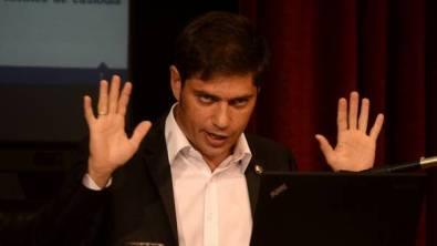 Kicillof también arremetió contra el Citibank y Mauricio Macri. (DyN Archivo)
