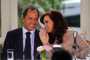 La Presidenta se mostrará mañana junto a Scioli en la Casa Rosada. Foto: Archivo