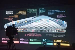 Estadio Arena-Única en Latinoamérica